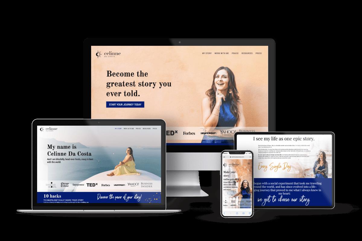 one week deluxe launch website